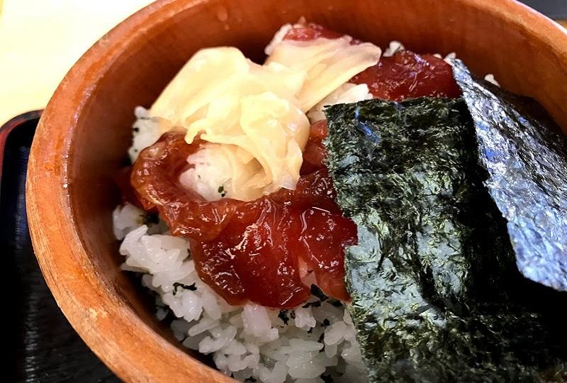 ハレの日の食事「手こね寿司」