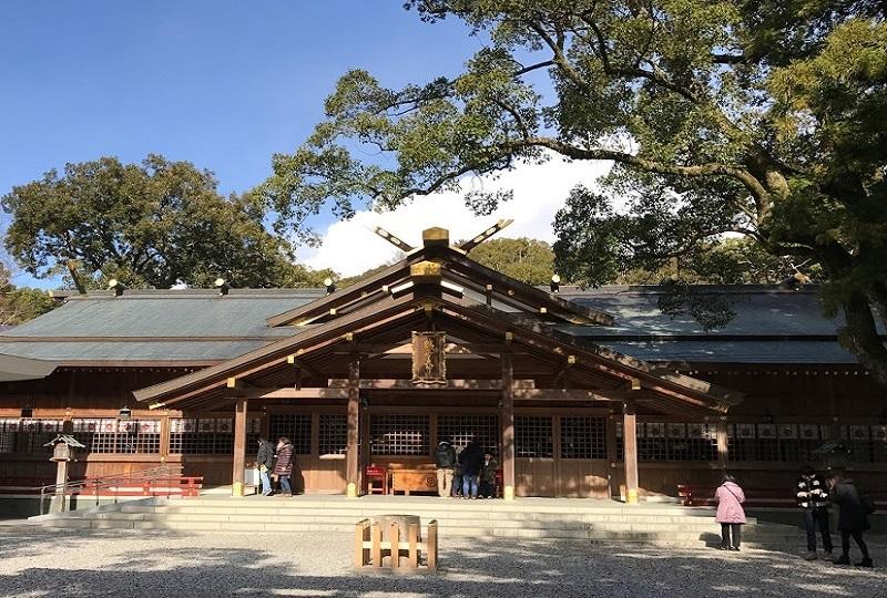 道開きの神社「猿田彦神社」