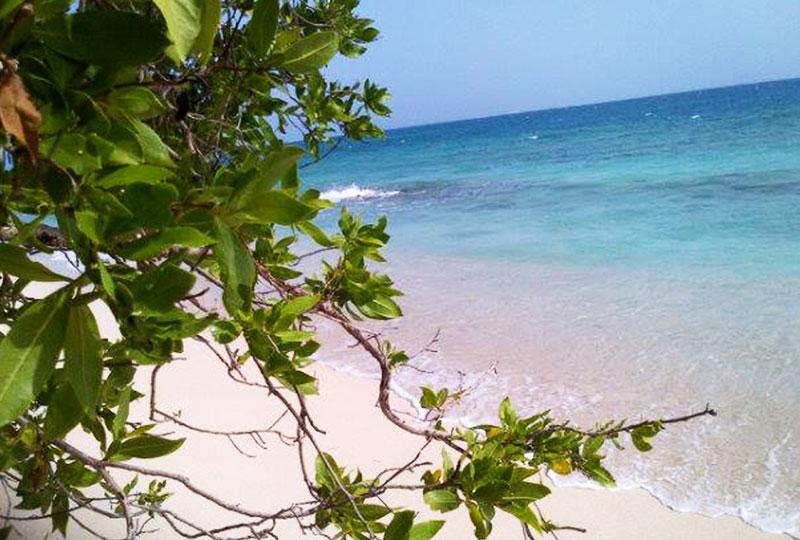 好きな場所を見つけたら荷物を置いて、あとは海へ