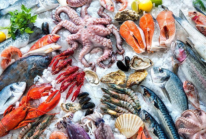 カリブ海といえばロブスターやコンク貝等のシーフード料理