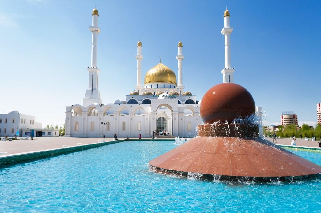 中央アジアとヨーロッパにまたがる国・カザフスタンの首都、アスタナ