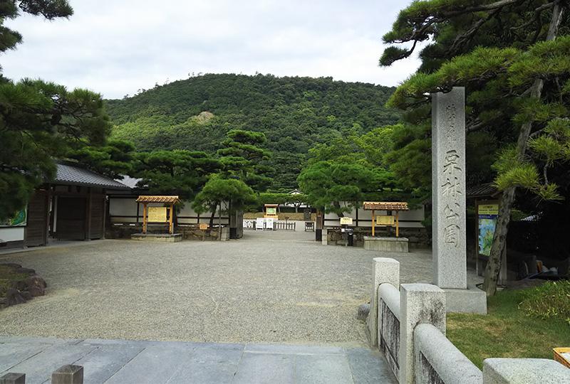 東京ドーム3.5個分相当の広大な庭園「栗林公園」