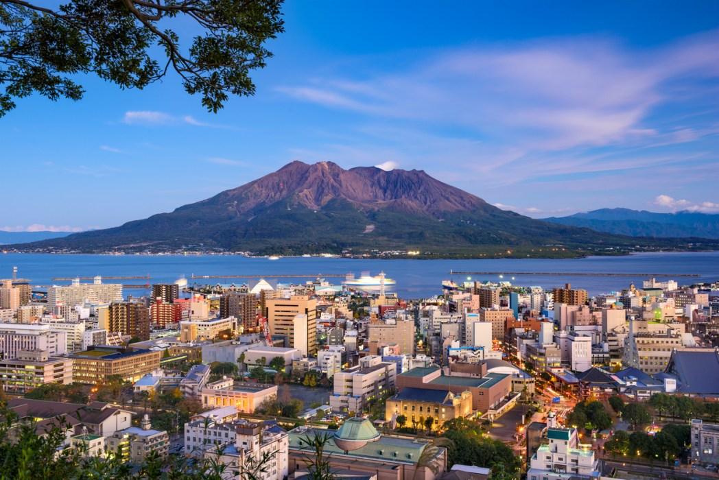 鹿児島のシンボル「桜島」