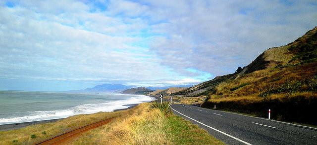 カイコウラ、ニュージーランド