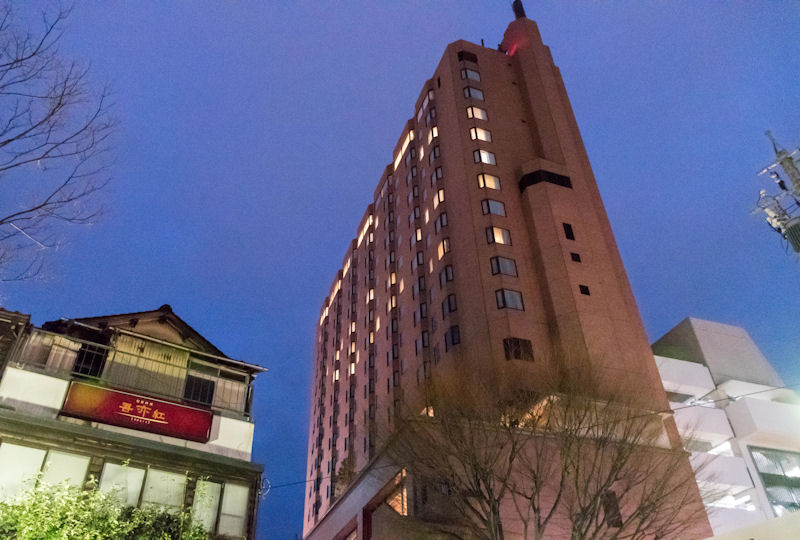 繁華街の中心にある「金沢 東急ホテル」