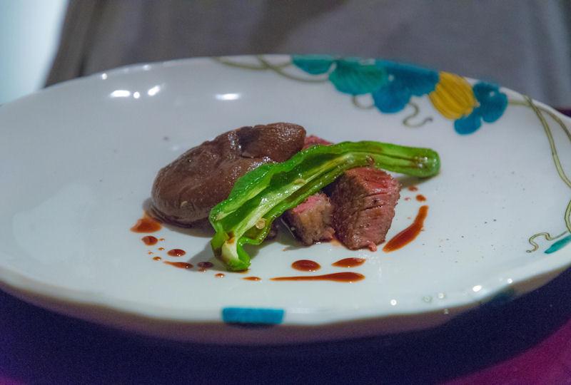 九谷焼とフランス料理の相性はぴったり