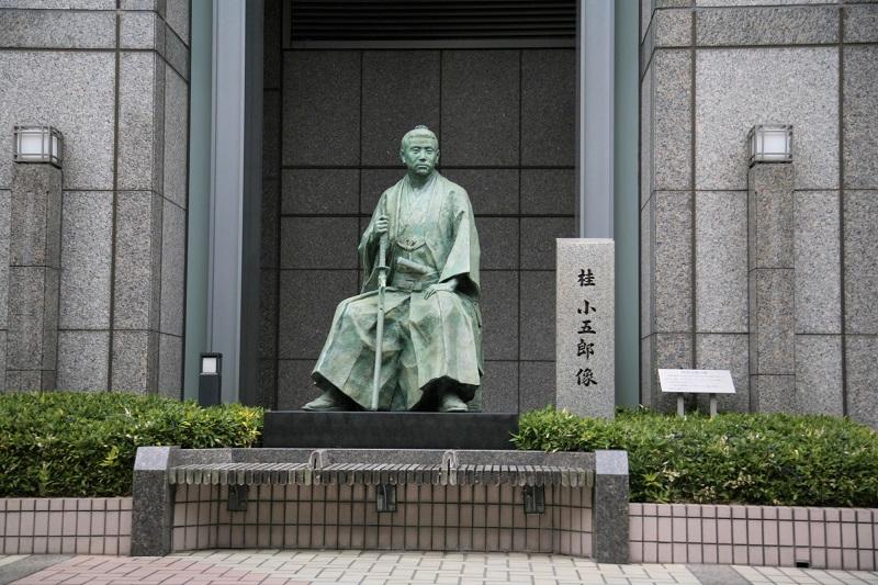 桂小五郎の銅像