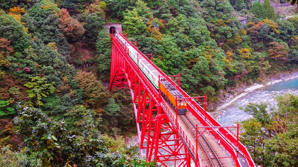 黒部峡谷 トロッコ電車 富山