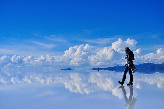 ウユニ塩原/ボリビア