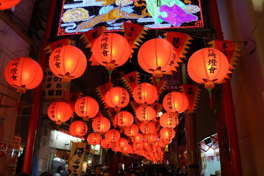 毎年100万人が訪れる「長崎ランタンフェスティバル」