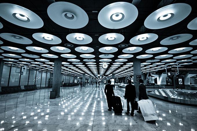 マドリード・バラハス空港、スペイン