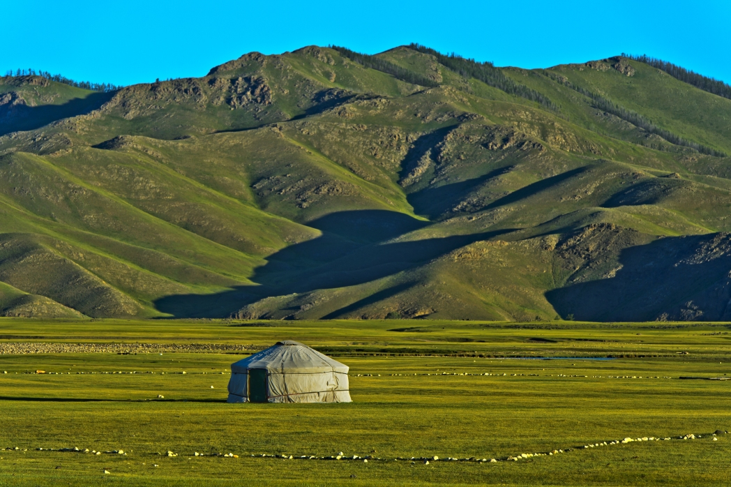 The vast and dramatic Mongolian landscapes