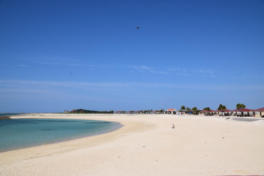日本一早い海開きは沖縄から