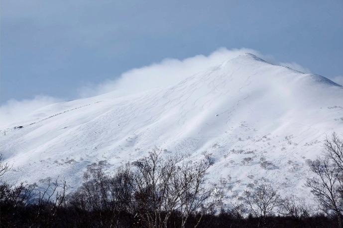 標高1,308メートルのニセコアンヌプリ山