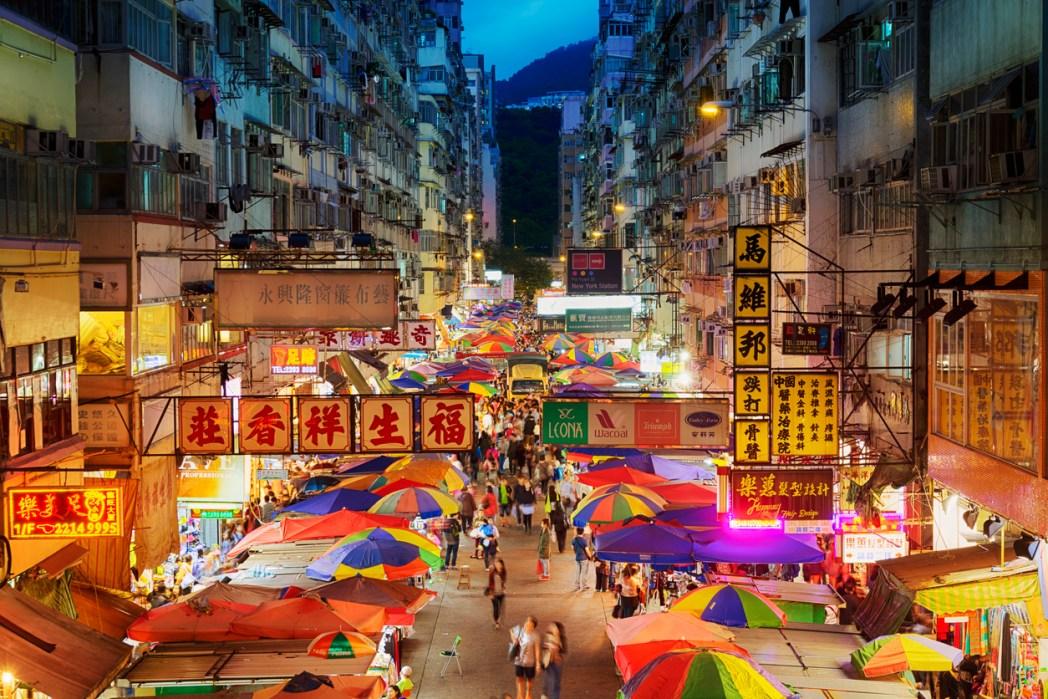 最初の旅は香港から始まる