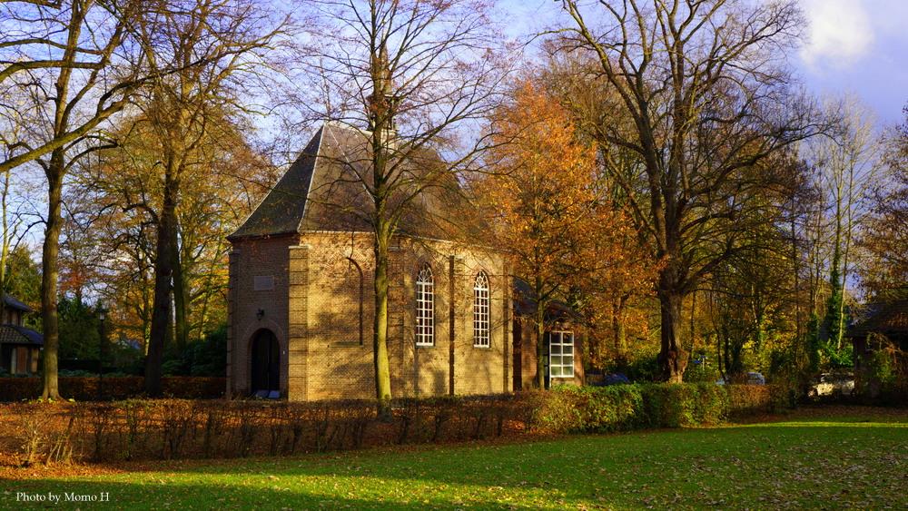 ゴッホが描いた風景がそのまま残るヌエネンの教会