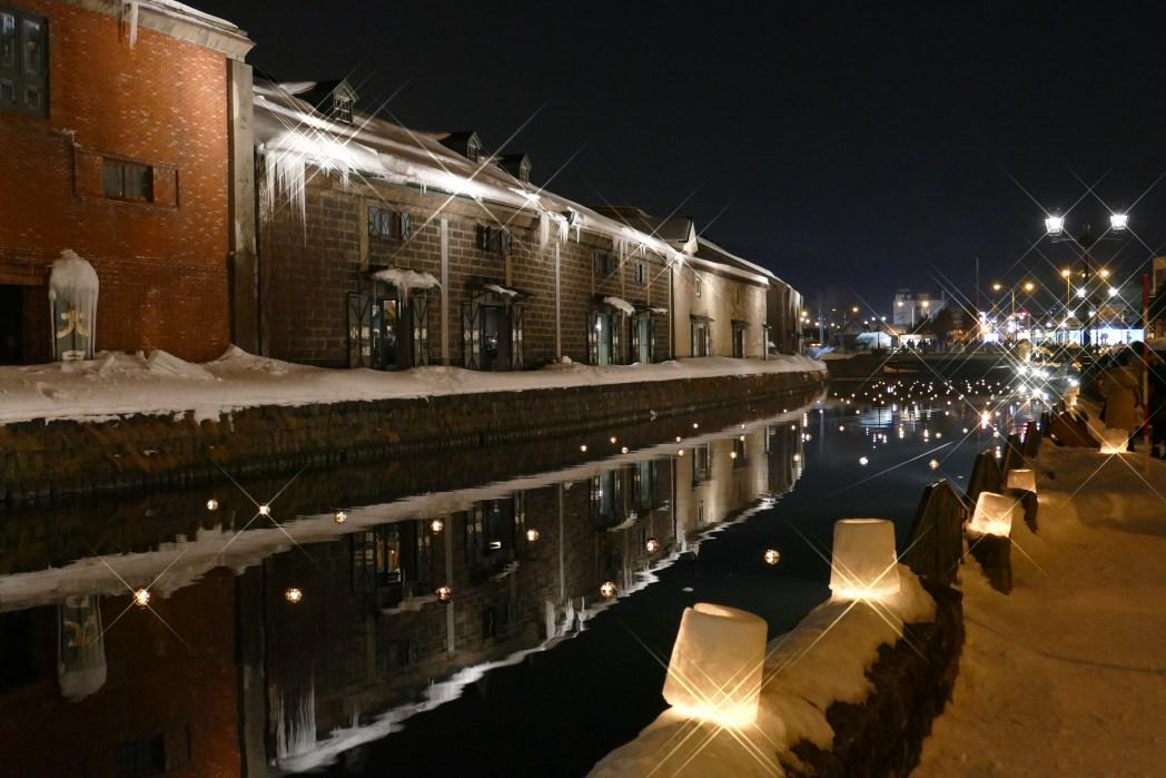 小樽の冬の風物詩「小樽雪あかりの路」