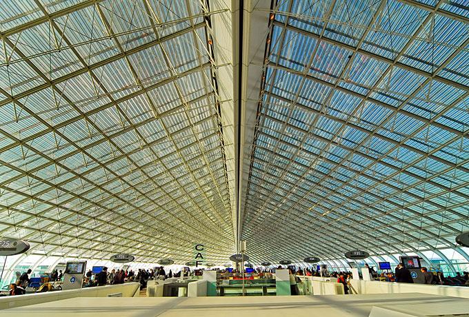 シャルル・ド・ゴール空港、フランス