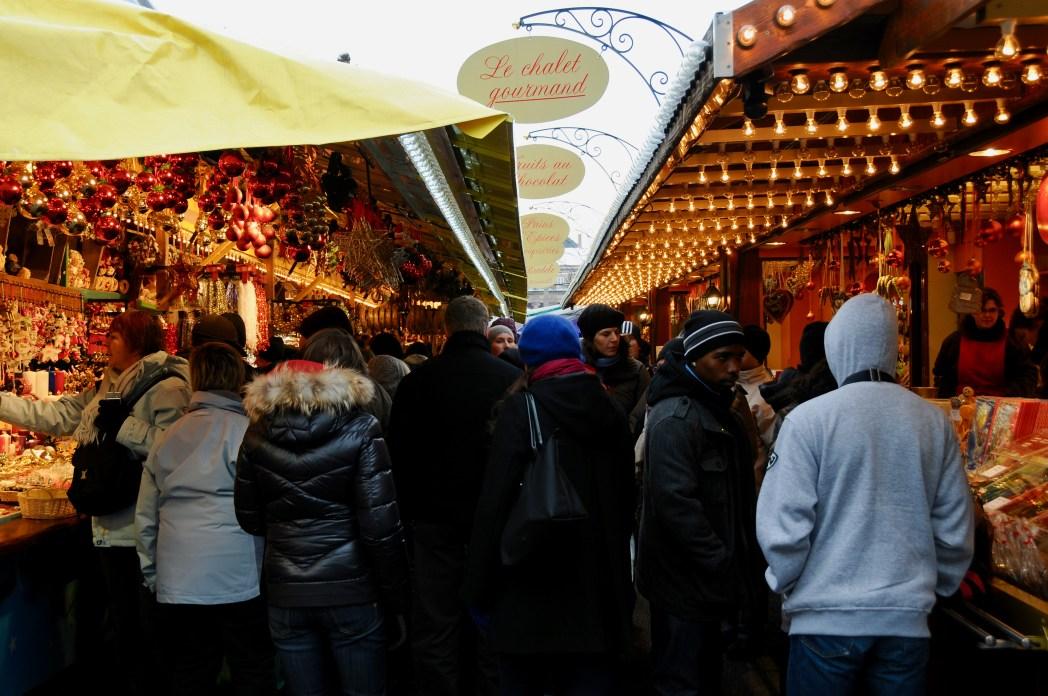 小雨のクリスマス・マーケット