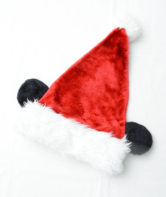 ミッキーのクリスマスサンタの帽子