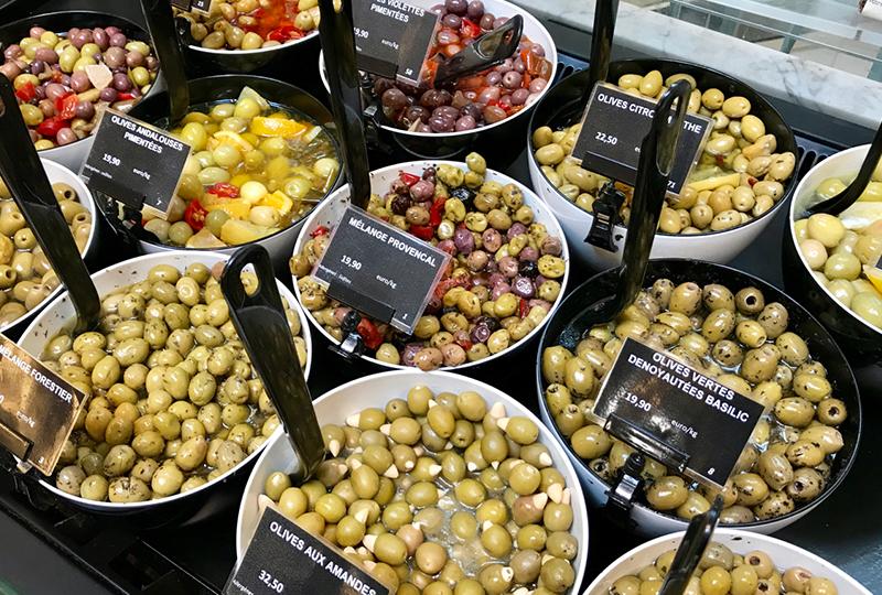 南仏の代表的な特産品であるオリーブ