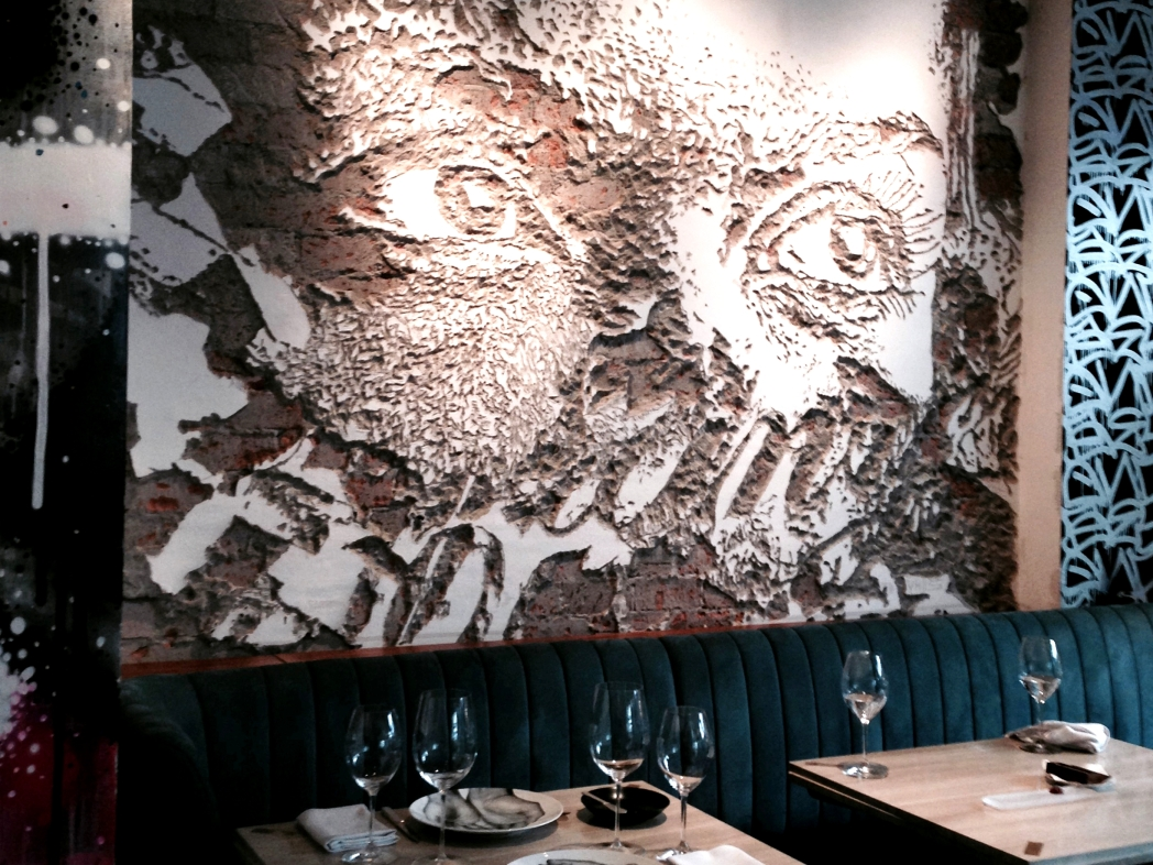 数々のアート作品が飾られている、美術館のようなレストラン「ビボ(Bibo)」