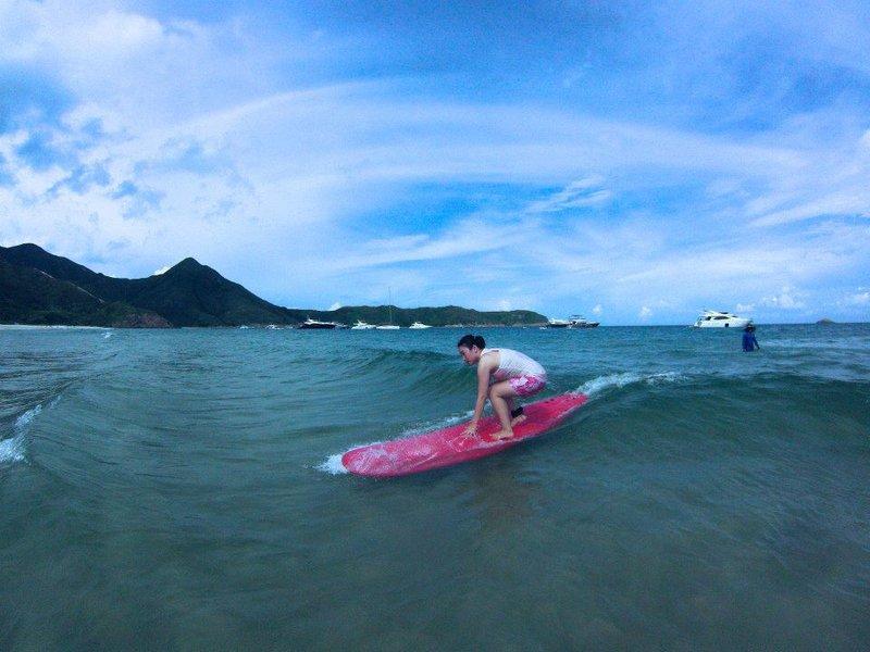 サーフィン、香港