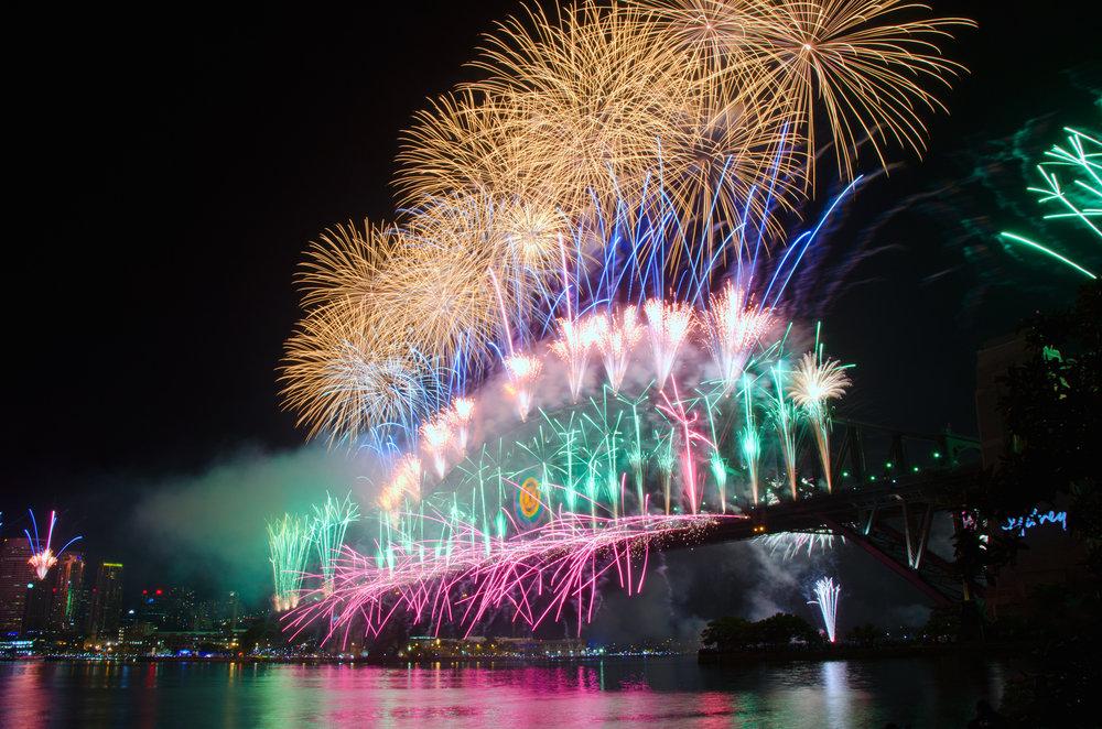 シドニー花火、オーストラリア