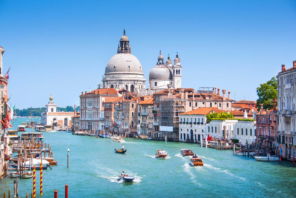 ヴェネツィアの街並み、イタリア