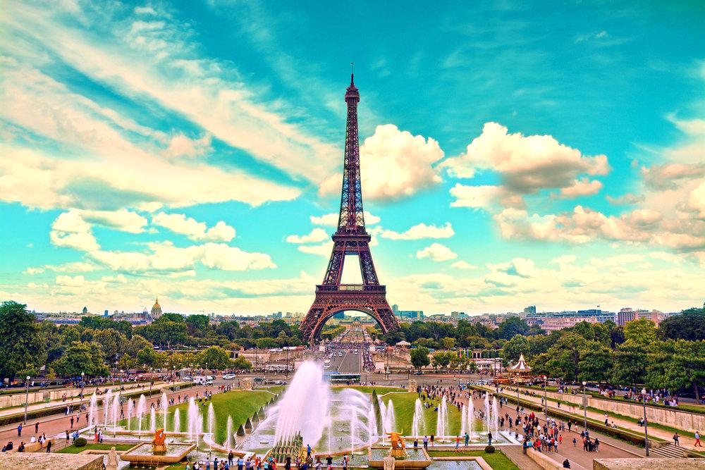 エッフェル塔、パリ、フランス