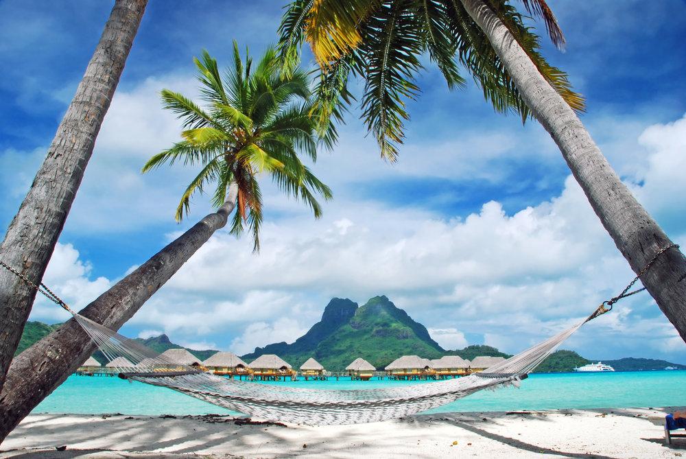 ビーチ、ボラボラ島