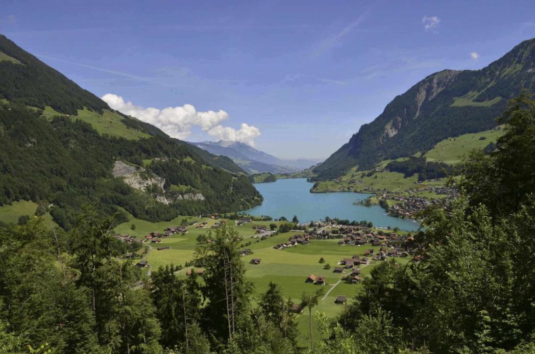 アルプス山脈、スイス