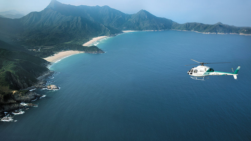 ヘリコプター遊泳飛行、香港
