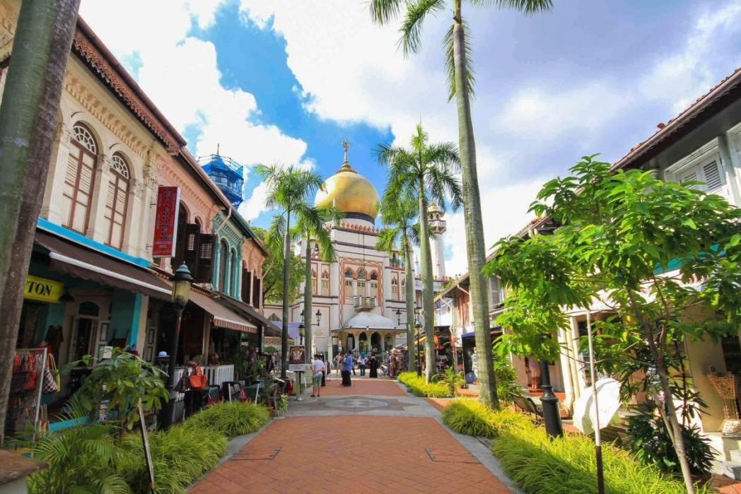 カンポン・グラム地区、シンガポール