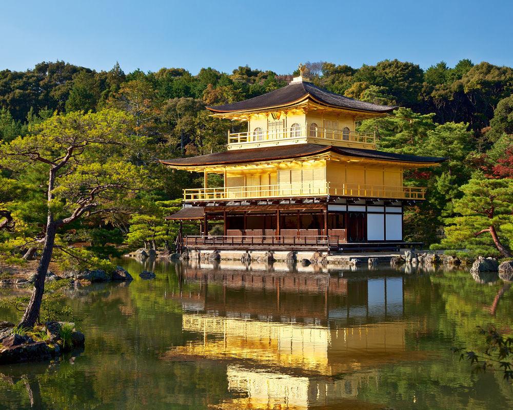 金閣寺、京都