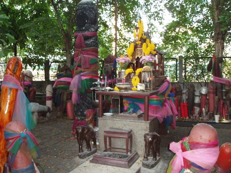 男根神社、バンコク