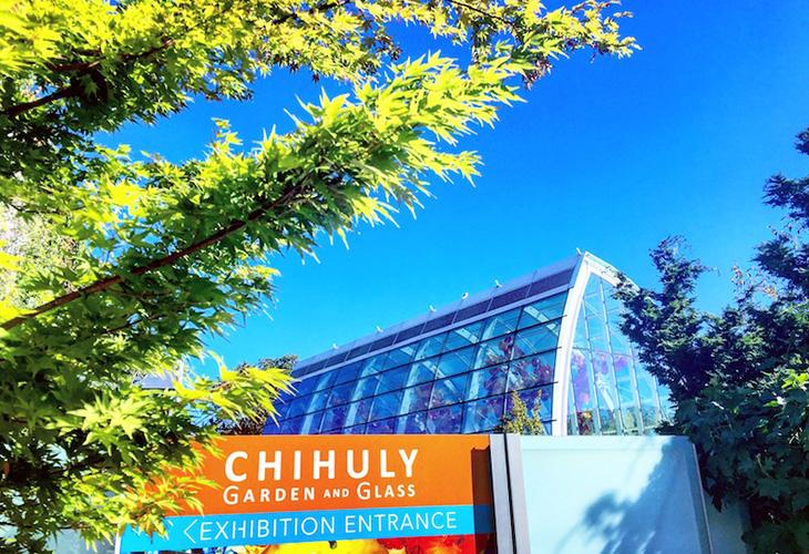 ガラス彫刻界の巨匠デイル・チフーリ氏による庭園式美術館「チフーリ・ガーデン・アンド・ガラス」