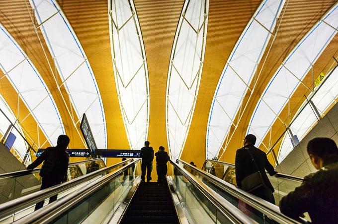 上海浦東国際空港、中国
