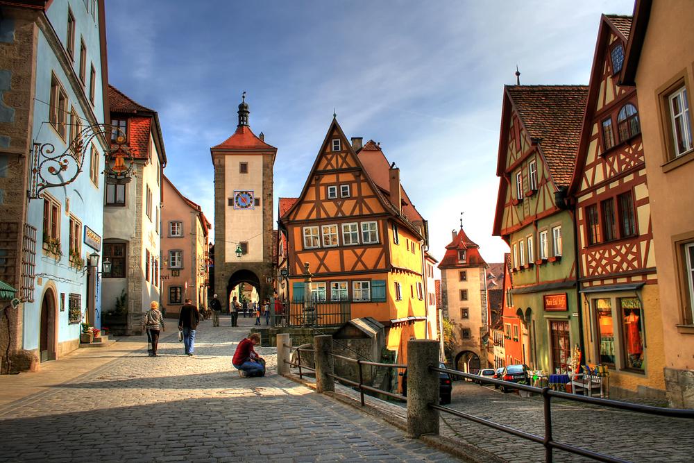 中世の宝石箱、ローテンブルグ