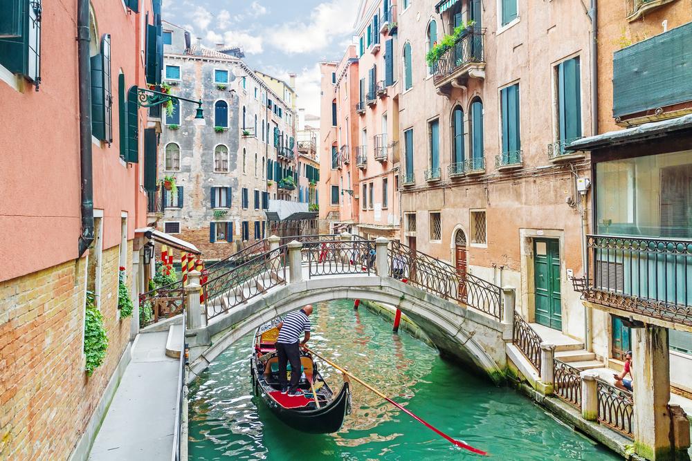美しいヴェネツィアの街並み