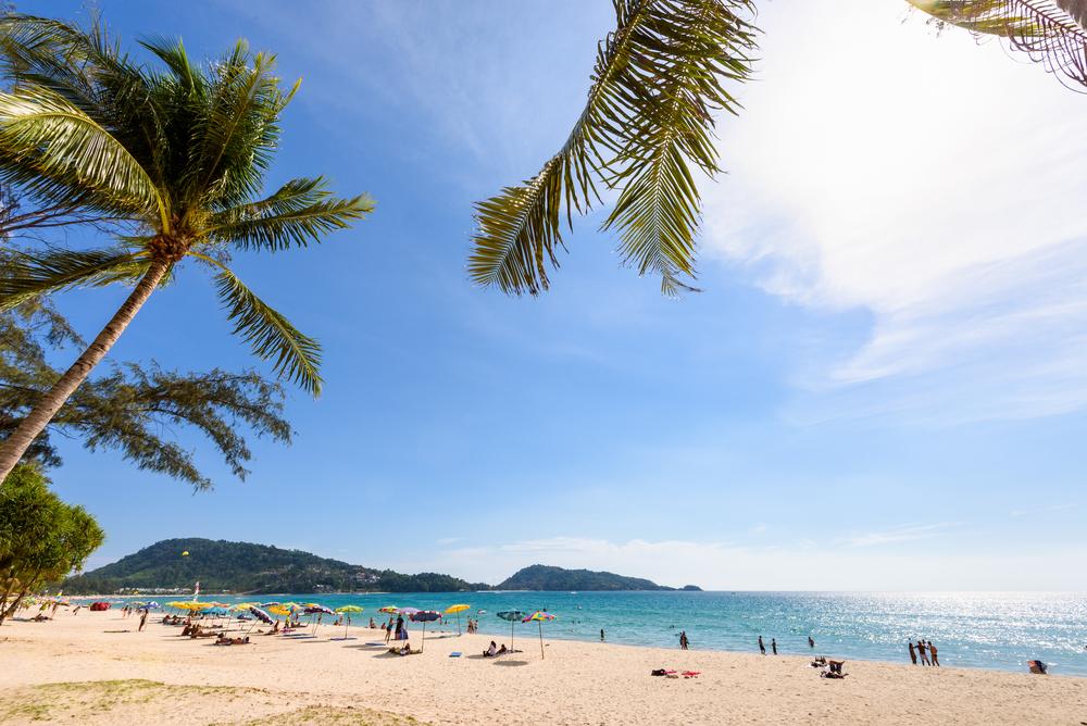 プーケットで一番有名なパトンビーチ