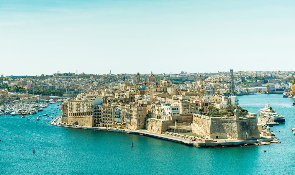 要塞都市だったマルタ島