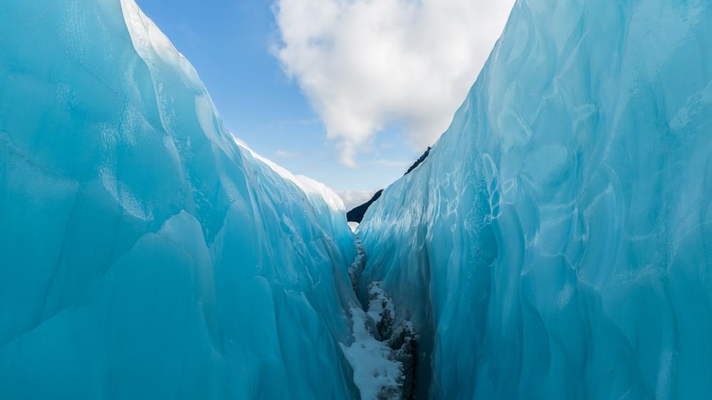 フォックス氷河の氷河ハイキング