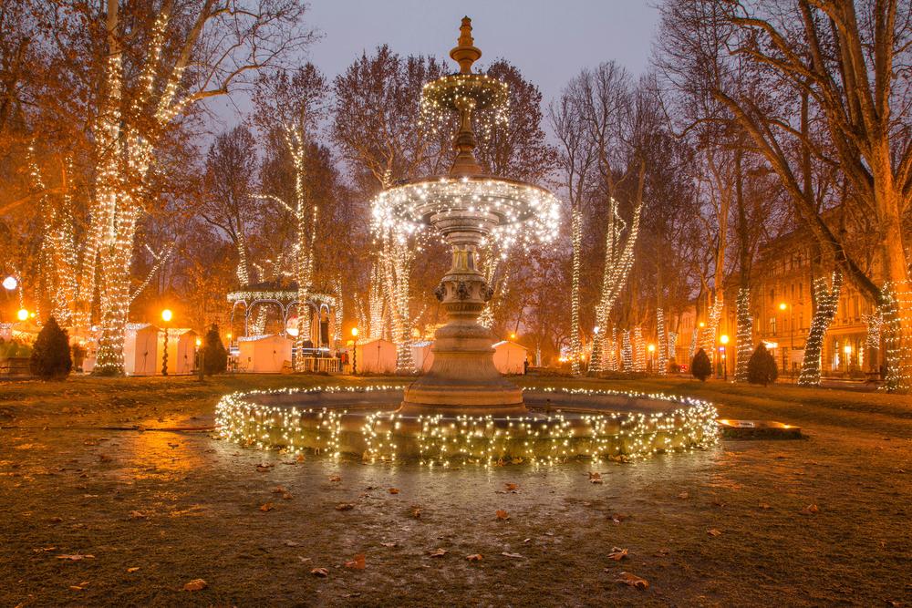ヨーロッパのベストクリスマスマーケット、ザグレブ