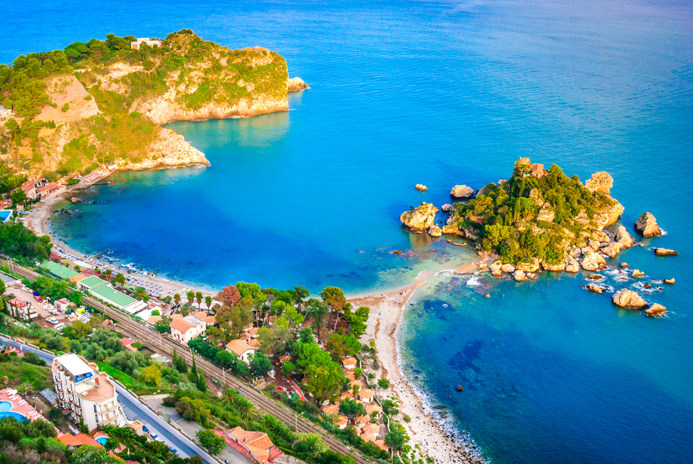 シチリア島のビーチ