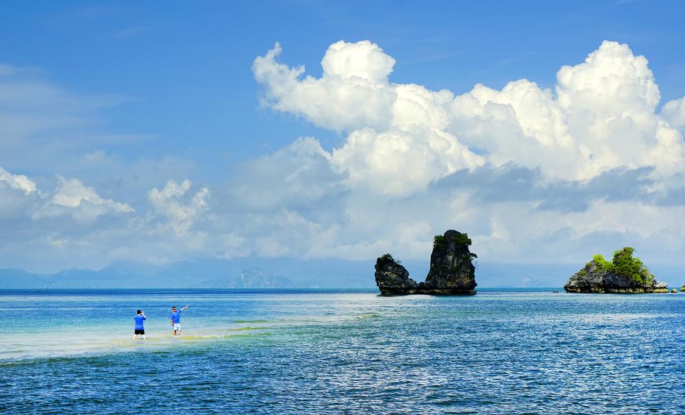 ランカウイ島の北東側にあるタンジュン・ルー ビーチ