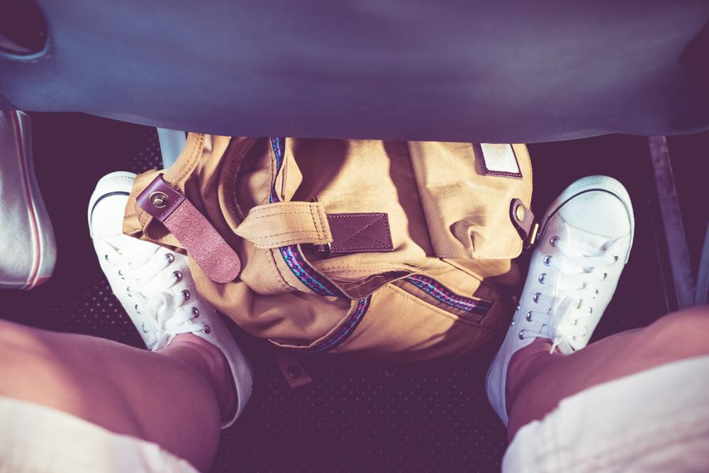 旅行に向いた靴で快適に