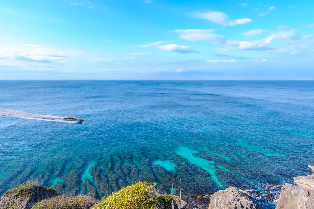 珊瑚で作られた離島「小琉球」