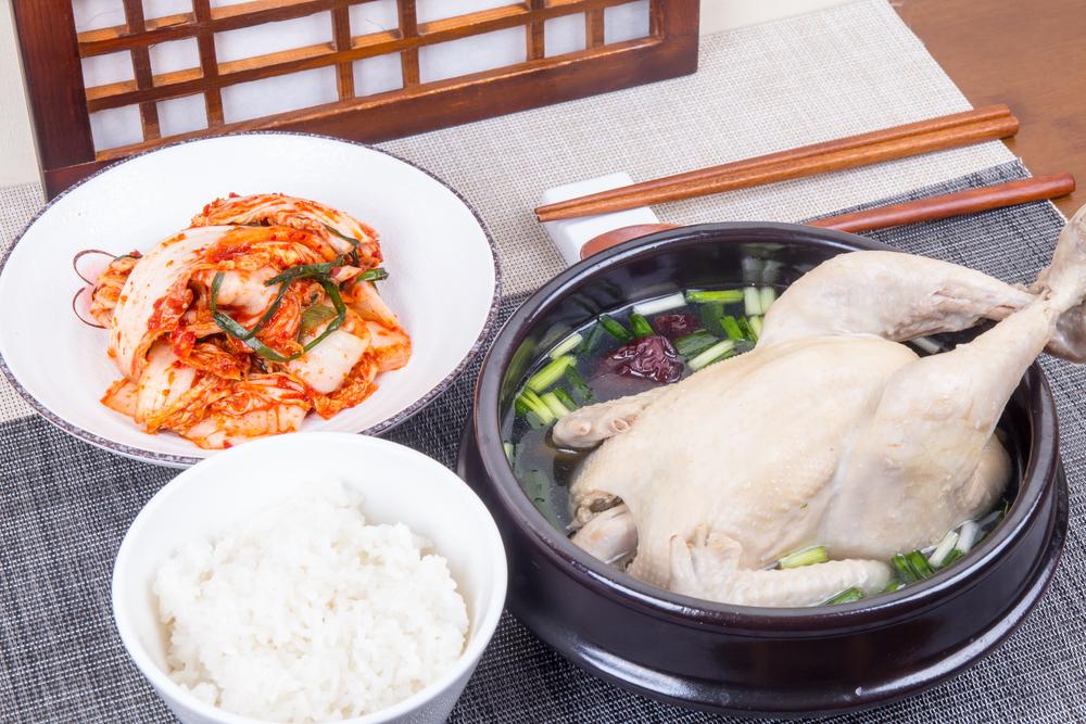 サムゲタンで夏バテ防止が韓国流