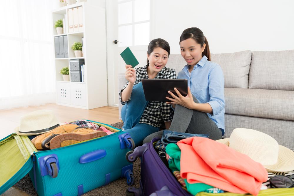 旅行の工程を考える